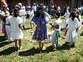 Ceremonia azteca de bienvenida a la primavera en Ayahualulco, Veracruz, México. 14.jpg