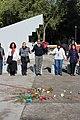Ceremonia conmemorativa 30 años de los Sismos de 1985 Reloj de Sol, Tlatelolco. 15.JPG