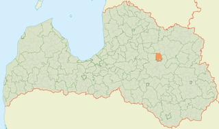 Cesvaine Parish parish of Latvia in Cesvaine Municipality