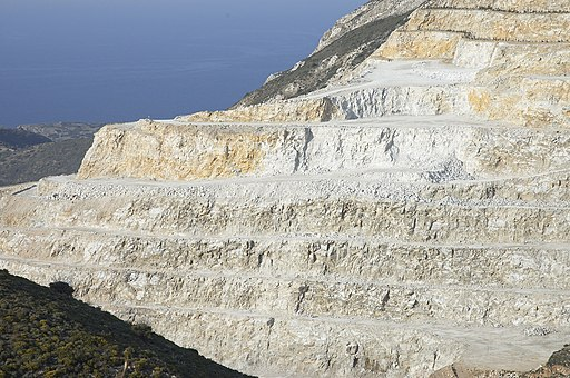 Chalk quarry crete B