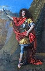 portrait en pied de Philippe d'Orléans monsieur frère du roi Louis XIV