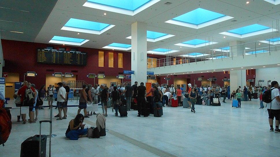Chania Airport, Schalterhalle