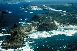 קו החוף הפראי של איי התעלה, קליפורניה