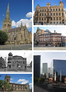 Salford Area of Greater Manchester, England