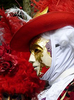 Character of the Venice carnival J2