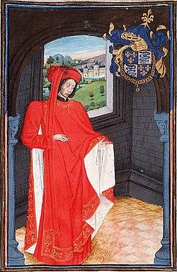 Charles d'Orléans, en habit de chevalier de la Toison d'or
