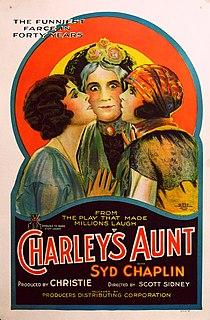 <i>Charleys Aunt</i> (1925 film) 1925 film