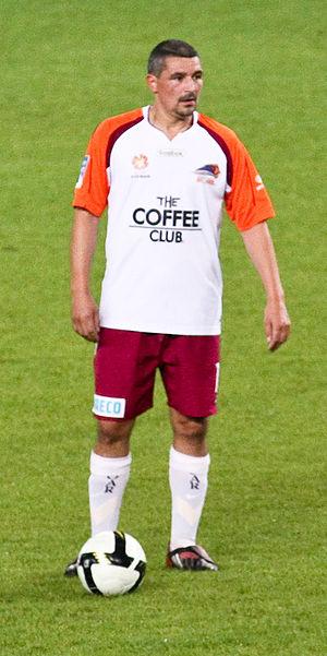 Charlie Miller - Miller playing for Queensland Roar