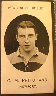 Charlie Pritchard Welsh rugby union player (1882–1916)