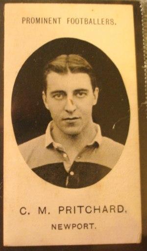 Charlie Pritchard - Pritchard in Newport jersey