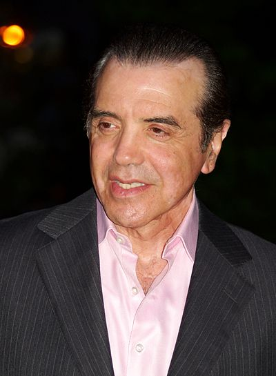 Chazz Palminteri, American actor, screenwriter, producer and playwright