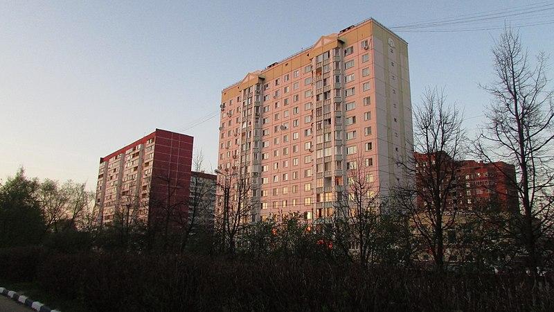 File:Chehova st. at the sunset. April 2014. - Улица Чехова на закате. Апрель 2014. - panoramio.jpg