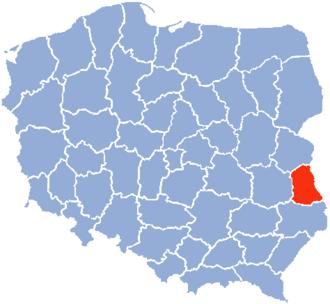 Chełm Voivodeship - Chelm Voivodeship