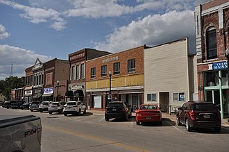 National Register of Historic Places listings in Cherokee County, Iowa - Image: Cherokee IA Commercial HD 1