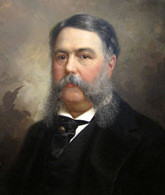 Chester A. Arthur - Arthur in 1881 (portrait by Ole Peter Hansen Balling)