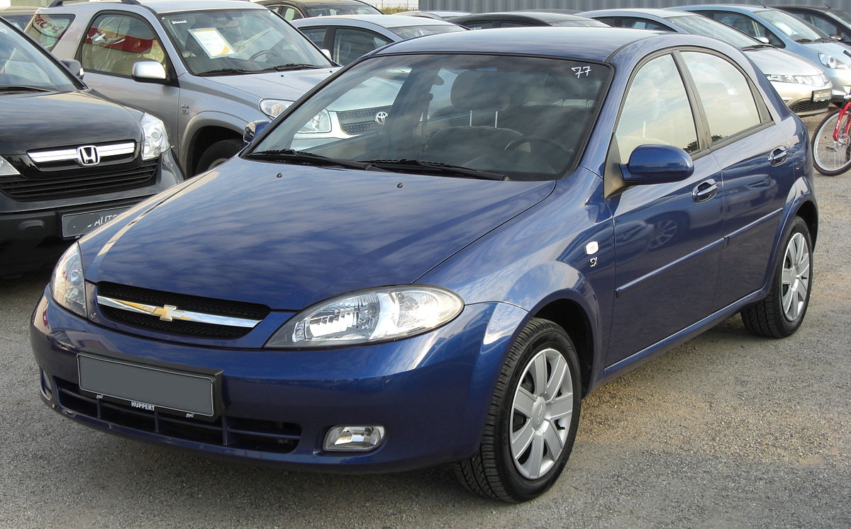 Px Chevrolet Lacetti Front