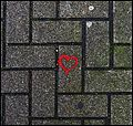 Chewing Gum and a Loving Heart on the Sidewalk - panoramio.jpg