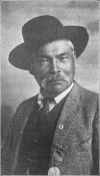 Door County, Wisconsin - Potawatomi Chief Simon Onanguisse Kahquados, 1919