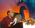 Chief Guest and renowned director Buddh Deb Dasgupta addressing at the closing ceremony of IFFI 2007 on December 03, 2007 at Panaji, Goa.jpg