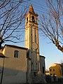 Chiesa di Sant'Andrea Apostolo, campanile (Rasa, Lendinara) 03.jpg