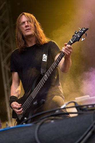 "Children of Bodom - Bassist Henkka ""T. Blacksmith"" Seppälä 2016"