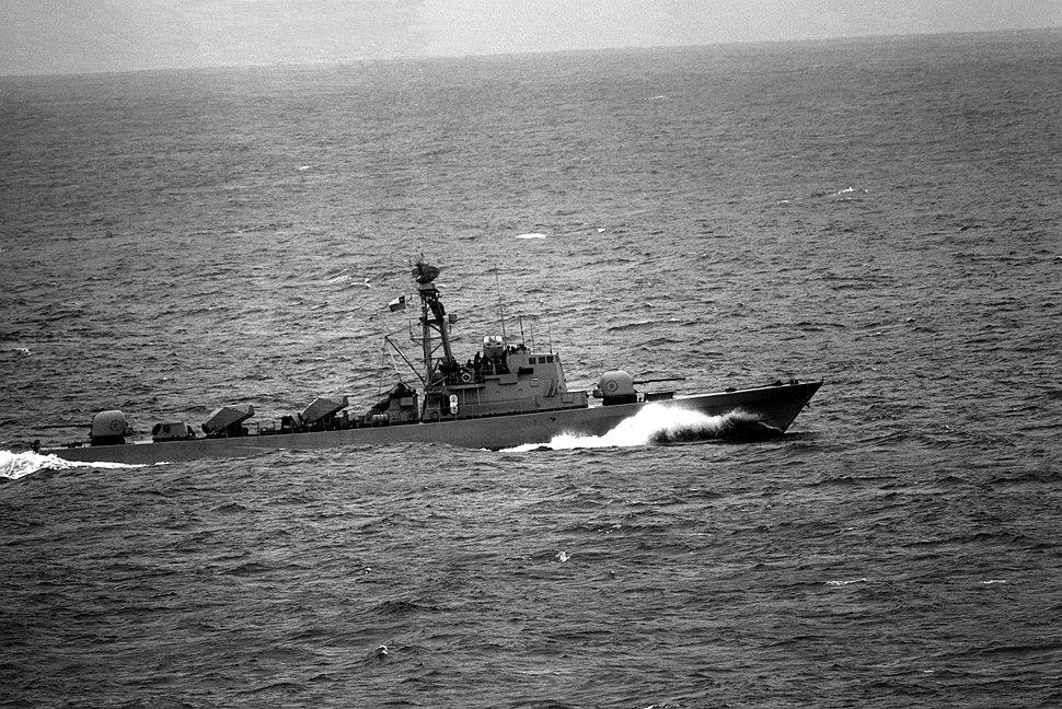 Chilean Navy Saar 4