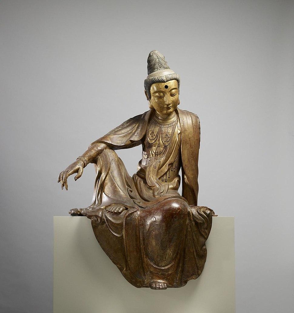 Chinese - Seated Guanyin (Kuan-yin) Bodhisattva - Walters 25256 (2)