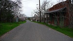 Chinese Camp, California - Main Street, Chinese Camp
