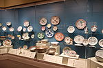 Chinese export porcelain exhibit - Winterthur Museum - DSC01496.JPG