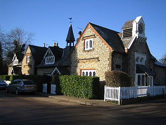 Primary schools in Dacorum - Old School Cottages, Chipperfield
