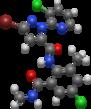Chlorantraniliprole Ball-N-Stick Avogadro 20200908.png