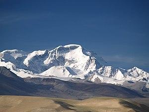 Snow line - Cho Oyu (8,201 m), Himalayas: 6,000 m