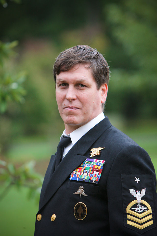 From commons.wikimedia.org: Chris Beck (Kristen Beck) Navy SEAL {MID-146153}