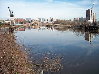 Christina River River in Delaware, United States