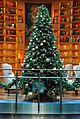 Christmas Tree in Library Aboard the Celebrity Equinox before Christmas (6690331677).jpg