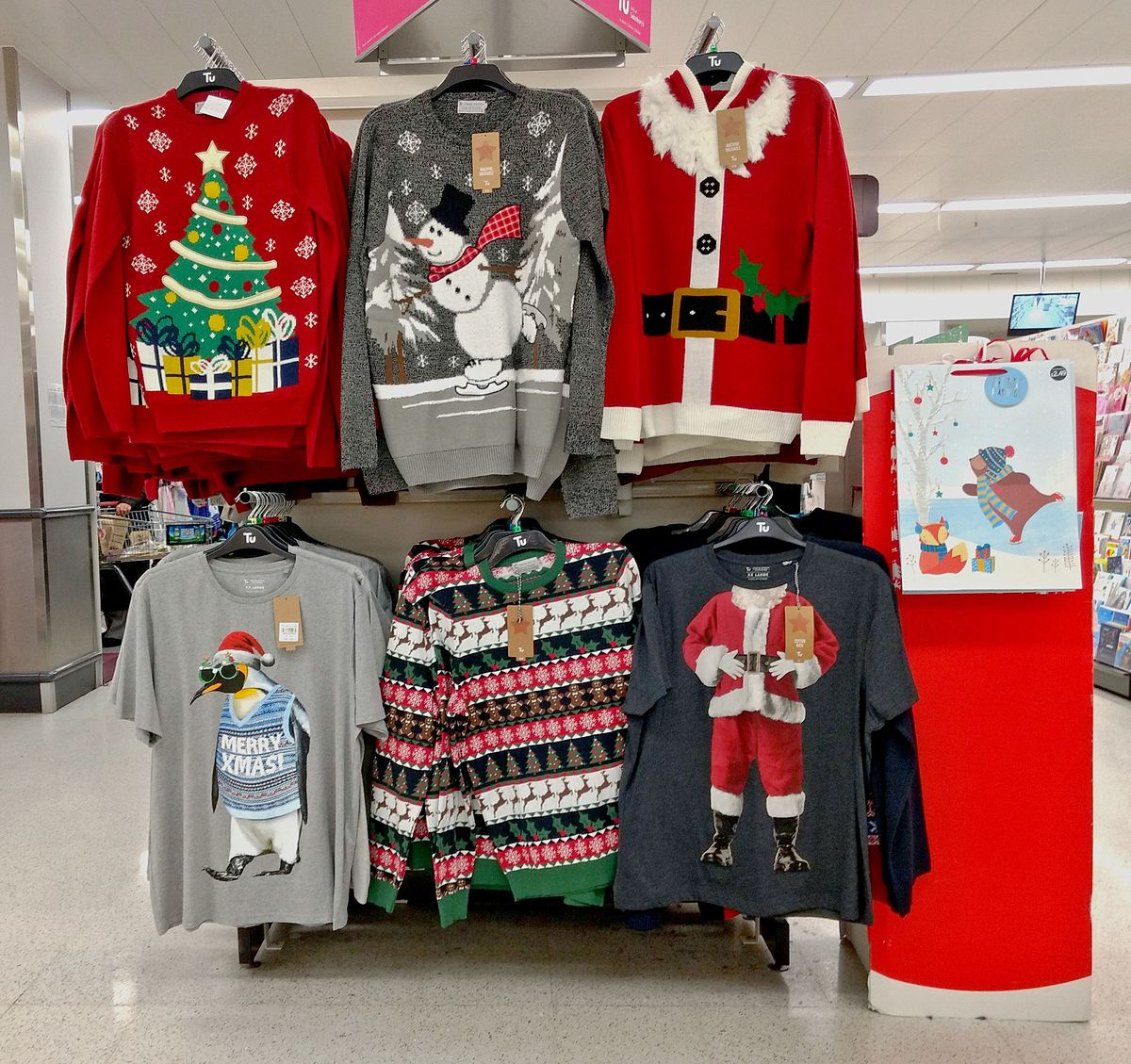 Christmas jumpers, Sainsbury's 2016.jpg