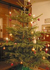 Christmas Tree Shaped Drinking Glass