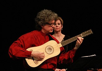 Baroque guitar - Baroque guitar played by Christopher Morrongiello