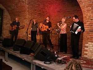 Chumbawamba - The band in 2004.