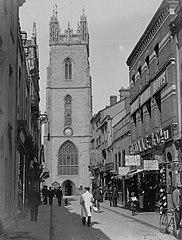Church Street & St Johns Tower, Cardiff