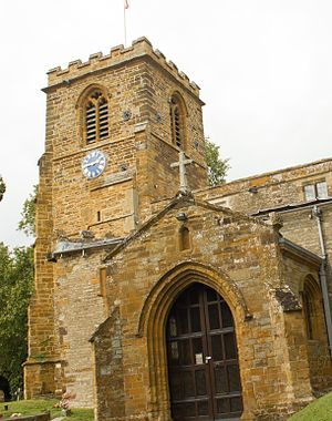 Collingtree - Image: Church of S Columba in Collingtree