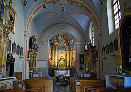 Church of StJohn the Baptist and StJohn the Evangelist (inside), 7 sw. Jana street,Old Town,Krakow,Poland.jpg