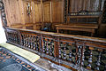 Church of St Mary Hatfield Broad Oak Essex England - altar rail and sanctuary.jpg