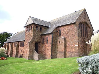 Woolacombe - The Church of St Sabinus was designed by W. D. Caröe
