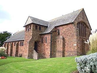W. D. Caröe - Image: Church of St Sabinus Woolacombe