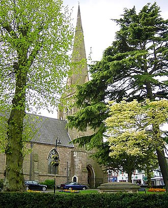 Redditch - St Stephen's Church (Church of England)