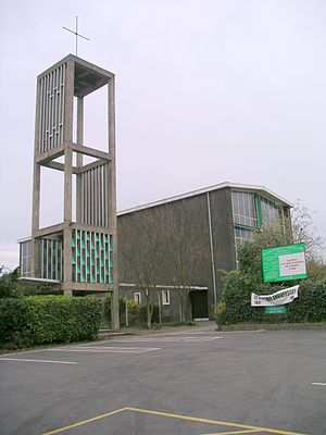 Willenhall, Coventry - The parish church of St John the Divine