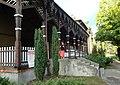 Ciechocinek Teatr letni drewniany elewacja boczna stan 2013 MZW 536.jpg