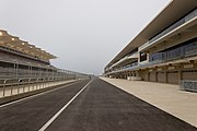 Circuit of the Americas pit lane