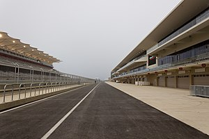 Circuit of the Americas - Pit lane